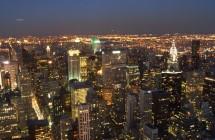 New York bei Nacht - Fotograf: melbow (CC BY 2.0)